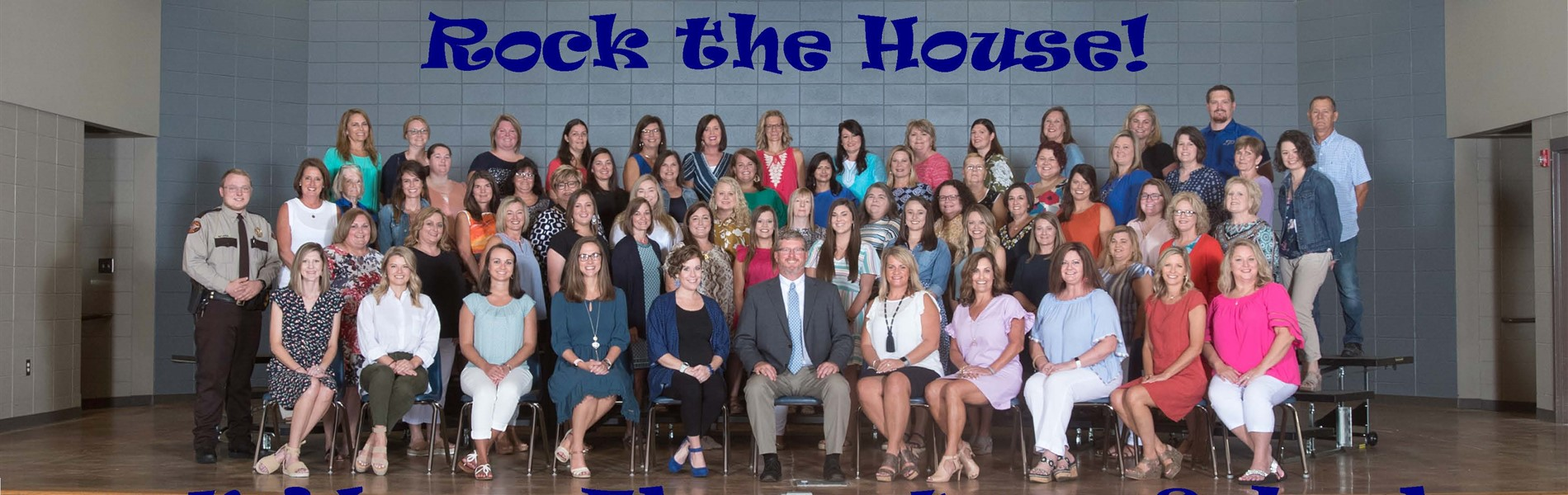 Picture of all staff of Midway Elementary
