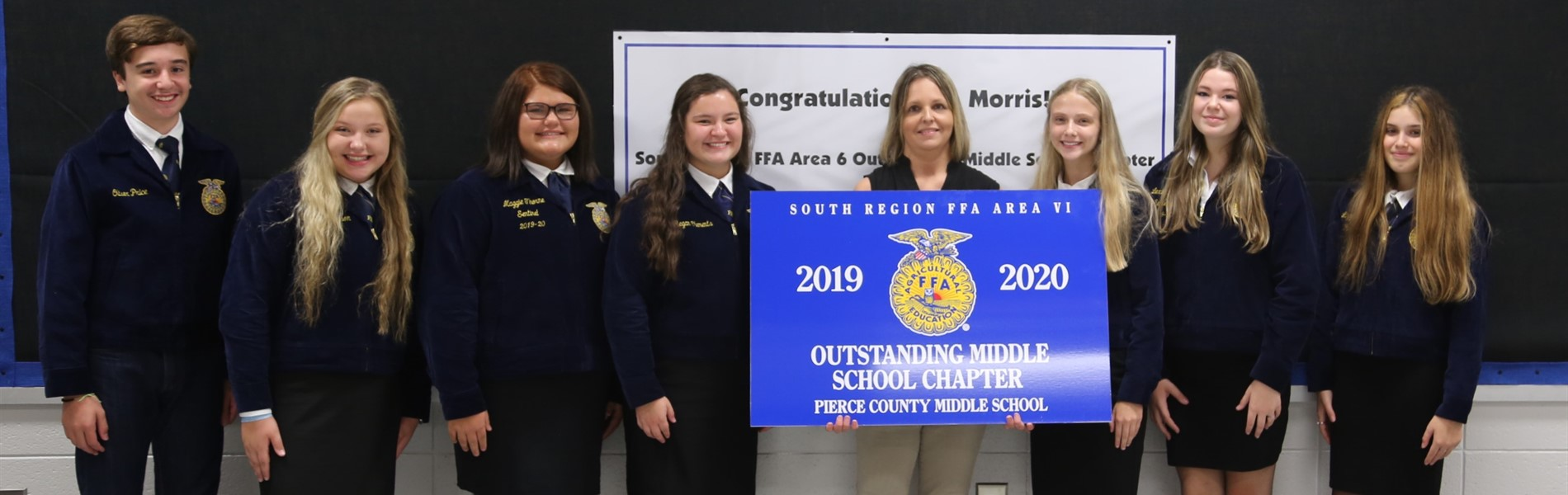 Outstanding Middle School Chapter