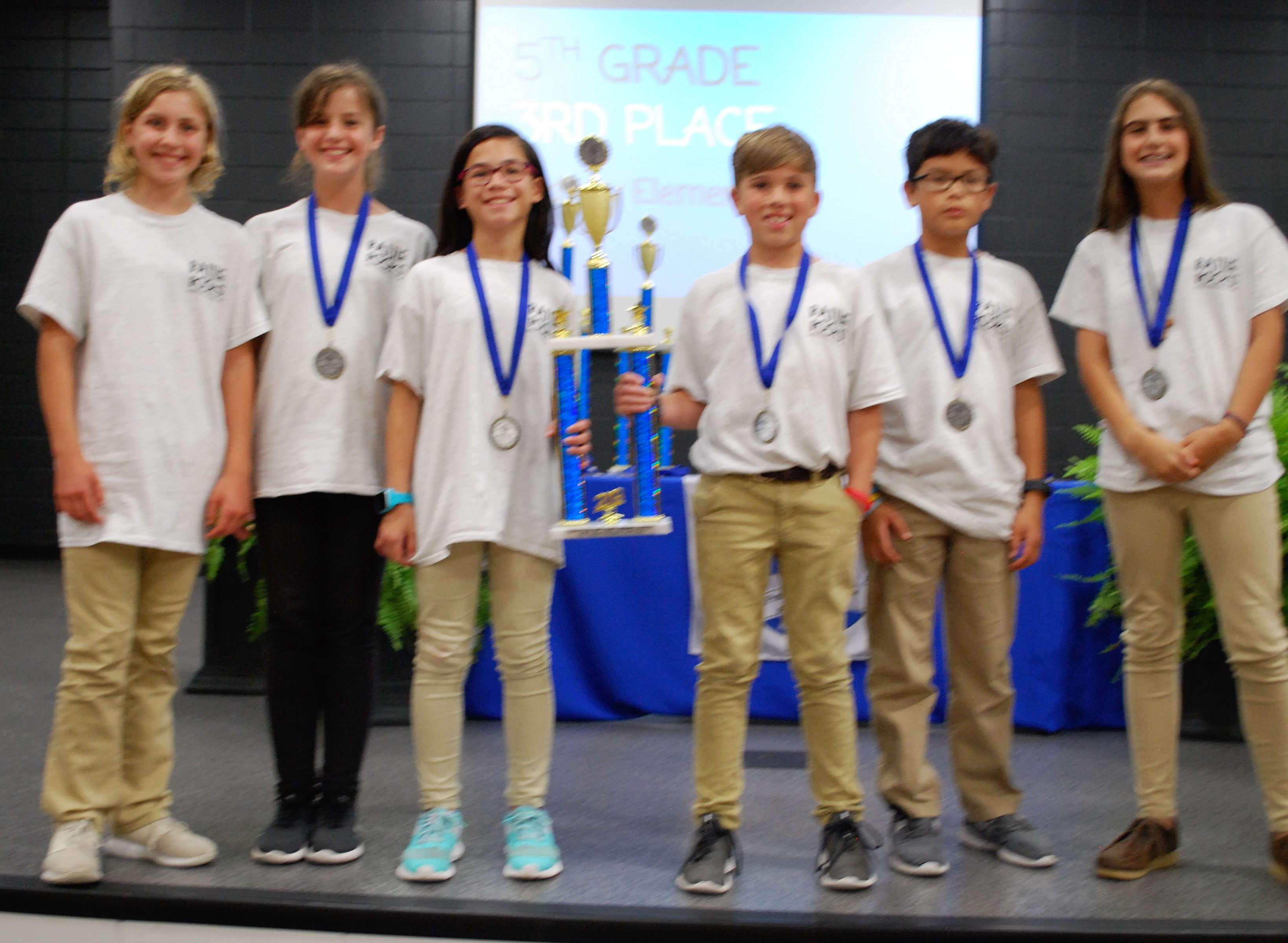 5th Grade: 3rd Place Midway Elementary